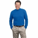 Port & Company Men's Mock Turtleneck: 100% Cotton (PC61M)