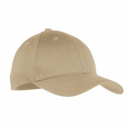 Port & Company Youth Cap: 100% Cotton 6-Panel Twill (YCP80)