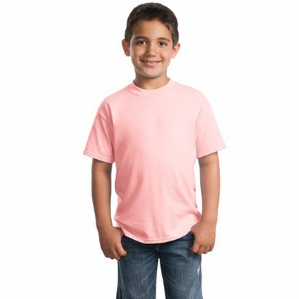 Port & Company Youth T-Shirt: 50/50 Cotton/Poly (PC55Y)