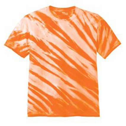 Port & Company Youth T-Shirt: Essential Tiger Stripe Tie-Dye(PC148Y)