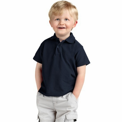 Precious Cargo Toddler Polo Shirt: Silk Touch (CAR500)