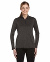 for Team 365 Ladies' Quarter-Zip Lightweight Pullover: (W3006)