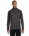 for Team 365 Men's Quarter-Zip Lightweight Pullover with Insets: (M3026)