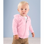 Rabbit Skins Infant Sweatshirt: Zipper Hooded (3446)