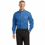 Red House Men's Dress Shirt: 100% Cotton Dobby Non-Iron Button-Down (RH60)