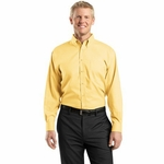 Red House Men's Dress Shirt: 100% Cotton Nailhead Non-Iron Button-Down Woven (RH37)