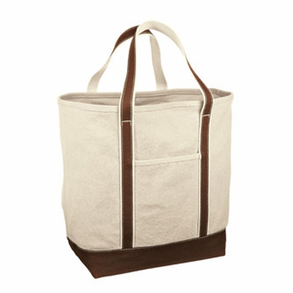 Red House Tote Bag: 100% Cotton Large Heavyweight Canvas (RH35)