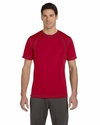 Men's Short-Sleeve Interlock Pieced T-Shirt: (M1021)