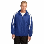 Sport-Tek Men's Jacket: Fleece Lined Colorblock (JST81)
