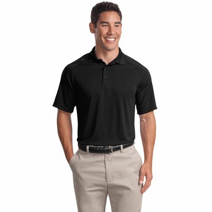 Sport-Tek Men's Polo Shirt: Dry Zone Raglan (T475)