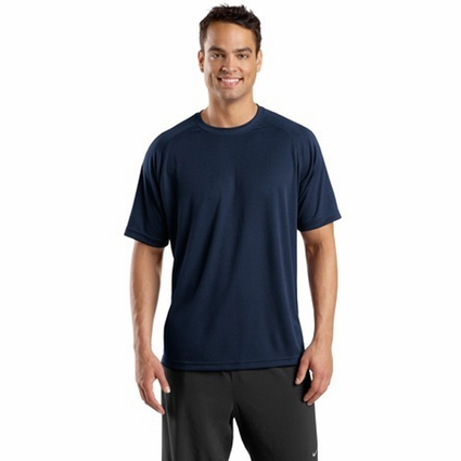 Sport-Tek Men's T-Shirt: Dry Zone Short Sleeve Raglan (T473)