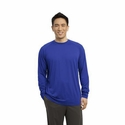 Sport-Tek Men's T-Shirt: Longsleeve Ultimate Crewneck(ST700LS)