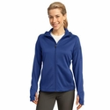 Sport-Tek Women's Jacket: Full-Zip Tech Fleece Hooded(L248)
