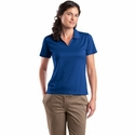 Sport-Tek Women's Polo Shirt: Dri-Mesh V-Neck (L469)
