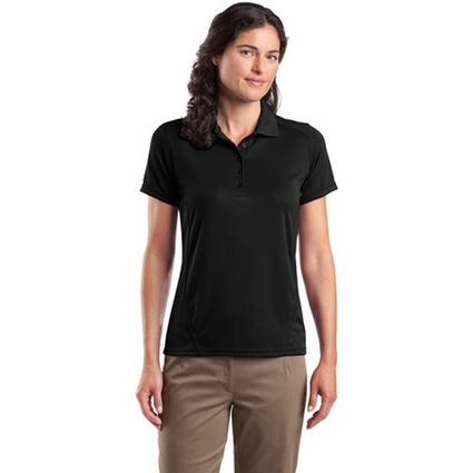 Sport-Tek Women's Polo Shirt: Dry Zone Raglan Accent (L475)