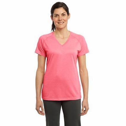 Sport-Tek Women's T-Shirt: Ultimate Performance V-Neck(LST700)
