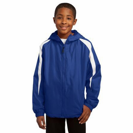 Sport-Tek Youth Jacket: Versatile Fleece Lined Colorblock(YST81)