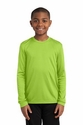 Sport-Tek® Youth Long Sleeve PosiCharge™ Competitor™ Tee
