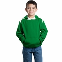 Sport-Tek Youth Sweatshirt: Pullover Hooded With Contrast Color (Y264)