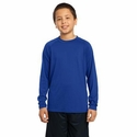 Sport-Tek Youth T-Shirt: Long Sleeve Ultimate Performance Crewneck(YST700LS)