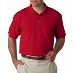 Men's 7 oz. ComfortSoft® Cotton Piqué Polo: (55)