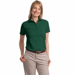 Ladies' 7 oz. ComfortSoft® Cotton Piqué Polo: (35)