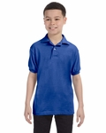 Youth 5.2 oz., 50/50 ComfortBlend® EcoSmart® Jersey Knit Polo: (054Y)