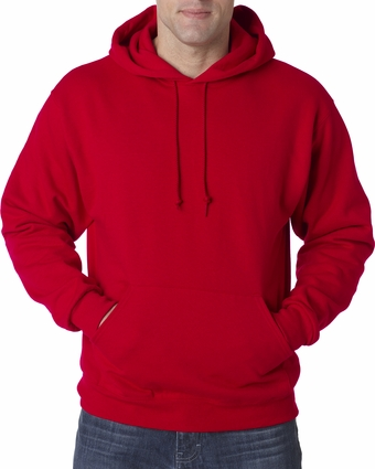 Tall 8 oz., 50/50 NuBlend® Fleece Pullover Hood: (996MT)