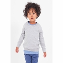 Toddler California Fleece Long Sleeve Raglan: (RSA5154)