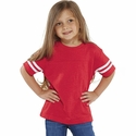Toddler Fine Jersey Football Tee