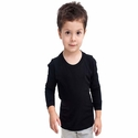 Toddler Fine Jersey Long Sleeve Tee: (2107)