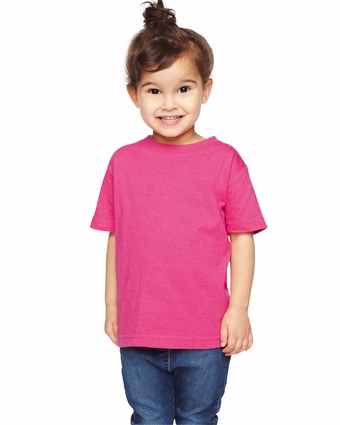 Toddler's Vintage Heathered Fine Jersey T-Shirt