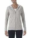 Tri-Blend Ladies' Full Zip Jacket