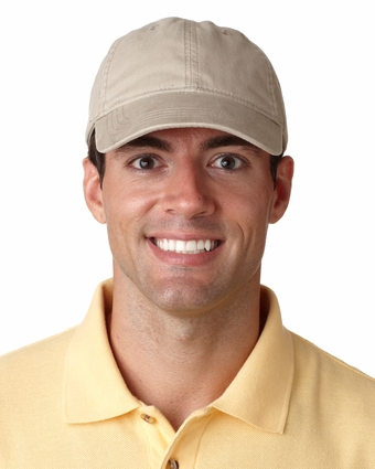 Classic Cut Heavy Brushed Cotton Twill Unconstructed Cap: (8116)