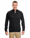 Adult Cool & Dry Sport 1/4-Zip Pullover with Side Panels: (8432)