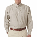 Men's Wrinkle-Resistant End-on-End: (8340)