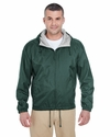 Adult Fleece-Lined Hooded Jacket: (8915)