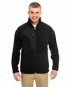 Adult Micro-Fleece Full-Zip Jacket: (8495)