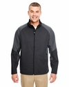 Adult 2-Tone Soft Shell Jacket: (8275)