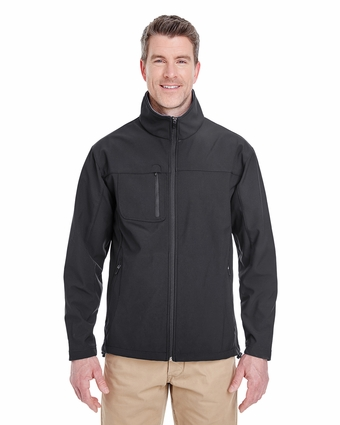 Adult Ripstop Soft Shell Jacket with Cadet Collar: (8280)