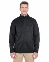 Men's Solid Soft Shell Jacket: (8477)