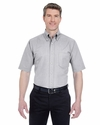 Men's Tall Classic Wrinkle-Resistant Short-Sleeve Oxford: (8972T)