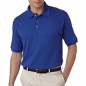 Men's Egyptian Interlock Polo: (U8505)