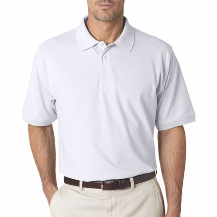 Men's Classic Platinum Polo: (7500)