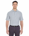 Men's Platinum Honeycomb Piqué Polo: (7510)