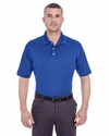Men's Platinum Performance Piqué Polo with TempControl Technology: (U8315)
