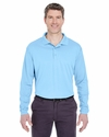 Adult Cool & Dry Sport Long-Sleeve Polo: (8405LS)