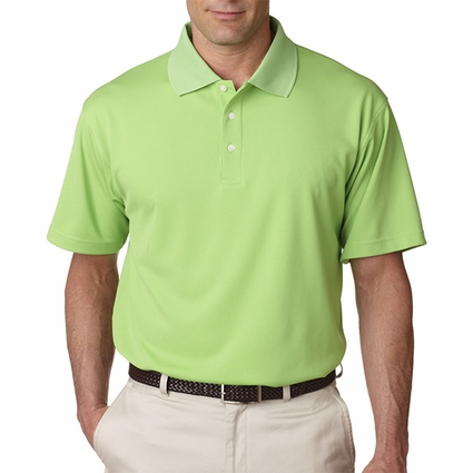Men's Cool & Dry Stain-Release Performance Polo: (8445)