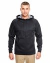 Adult Cool & Dry Sport Hooded Fleece: (8441)