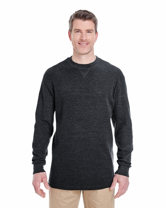 Adult Mini Thermal Crew Neck: (8455)